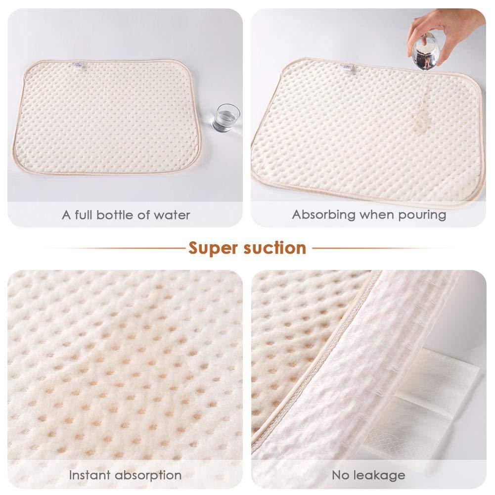 Tappetino da Viaggio Multiuso Beatie Fasciatoio per Pannolini Portatile Pad Impermeabile in Cotone