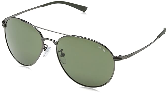 56f7a83eab1 Police S8953 Rival 2 Round Sunglasses  Amazon.co.uk  Clothing