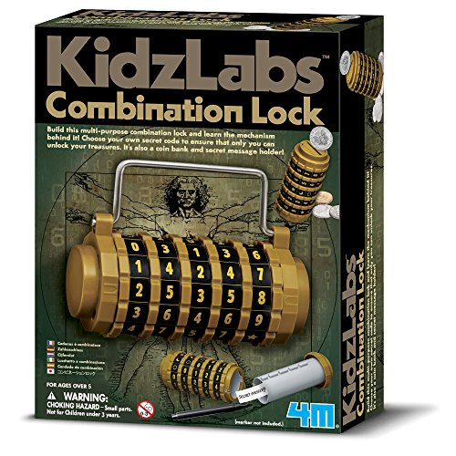 4M KidzLabs Combination Lock -