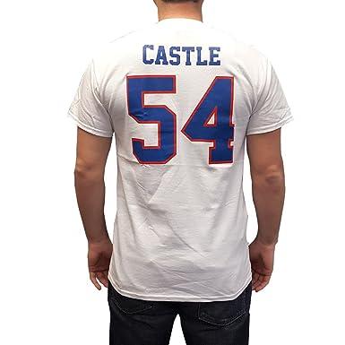 Amazon.com  Thad Castle  54 Mountain Goats White Jersey T-Shirt Blue ... 36c896d75835