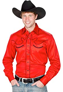 Camisa hombre gris Country Western vaquero Stars & Stripes Fraser gris XXL: Amazon.es: Ropa y accesorios