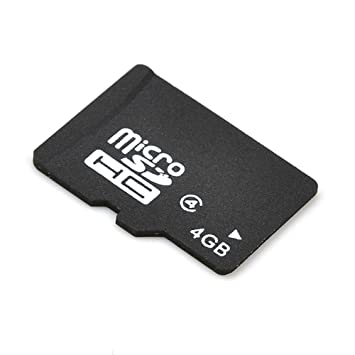 Tarjeta de Memoria Micro SD SDHC 4GB Card: Amazon.es ...