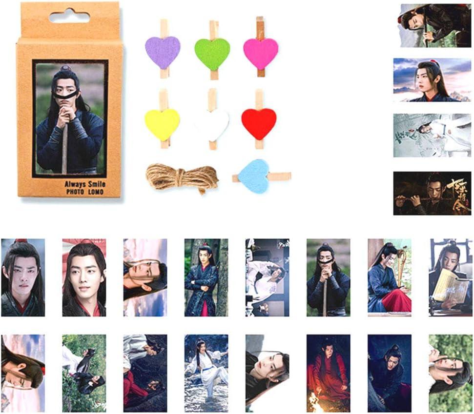 Tiyila Chen Qingling Wang Yibo Lan Wangji Xiaozhan Wei Wuxian Lomo Card Photo Cards H02