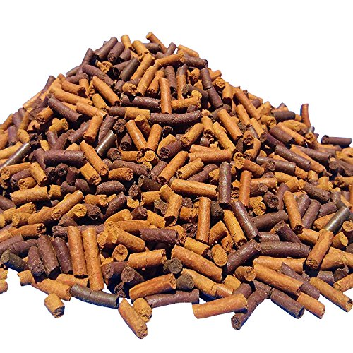 S&B Earthworm & Blackworm Sticks, Great for Carnivores, Bottom Fish, Turtles...1/8-lb