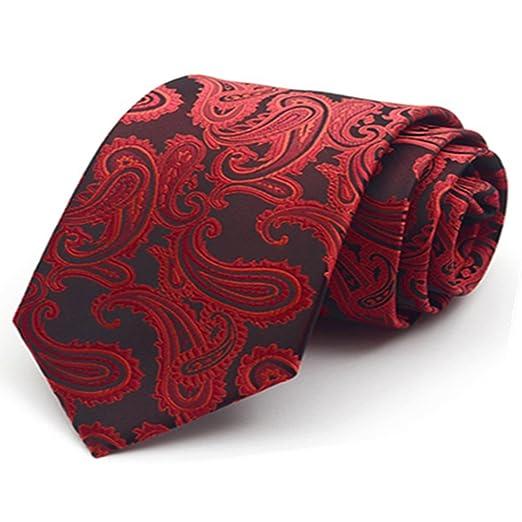 YYB-Tie Corbata Moda Traje de Corbata para Hombre Traje Casual de ...