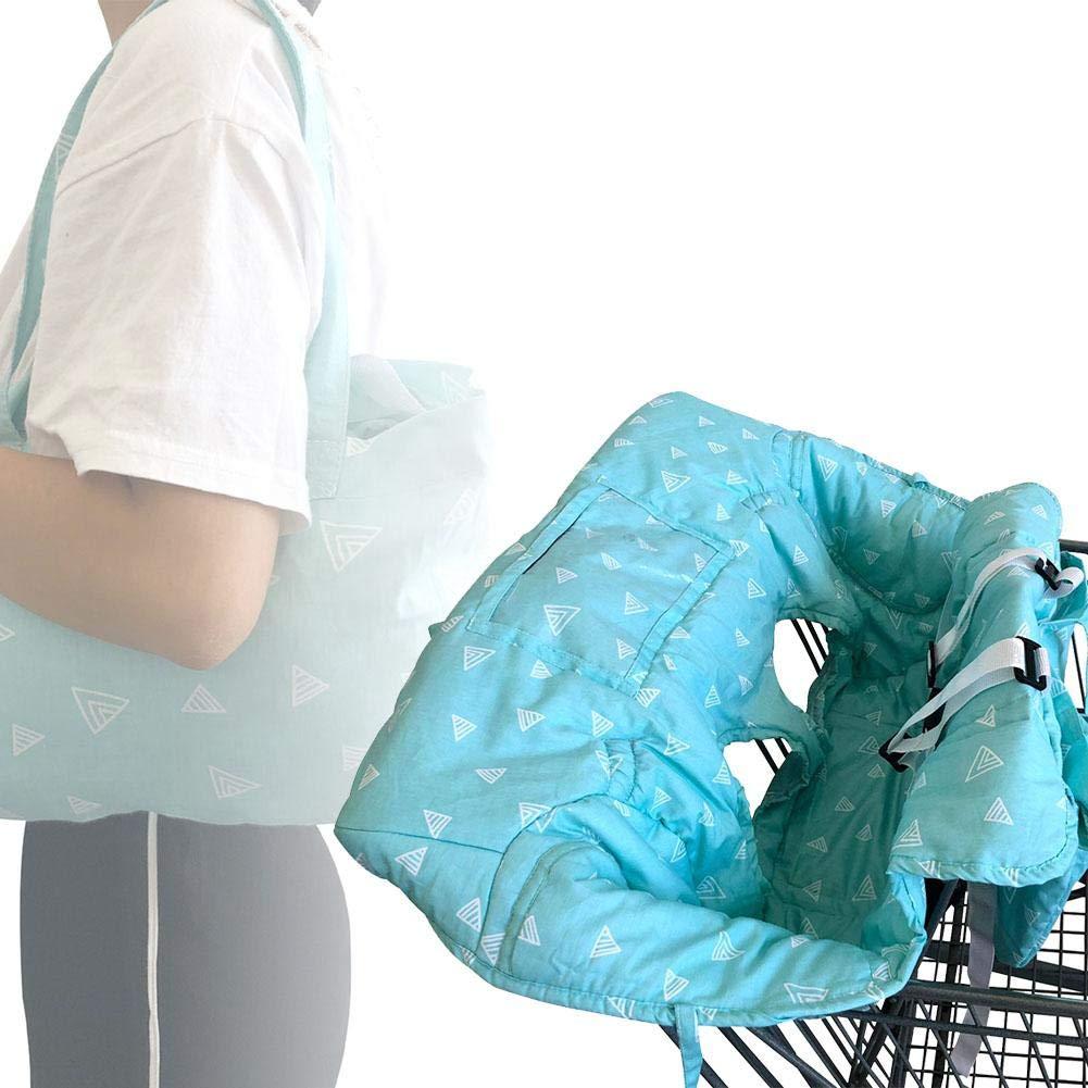 Einkaufswagenschutz Baby Warenkorb Kissen Tragbare Supermarkt Einkaufen Esszimmerstuhl Pad Auto Schutzmatte Sicherheit Sitz Reise f/ür Kinder f/ür baby /über 6 monate