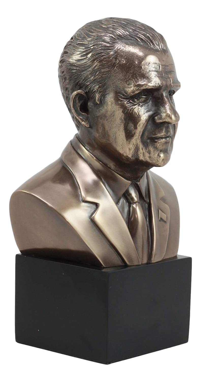 Ebros United States President Richard Nixon Bust Figurine 9 H Political Memorabilia Statue