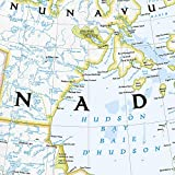 National Geographic: Canada Classic Wall Map