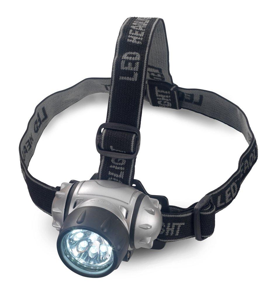 Neiko 40367 LED Headlamp Adjustable and Lightweight HI Water Resistant AAA Battery Powered Grace Marketing