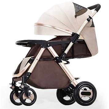 Carro de bebé de dos vías Carro para bebés de alta vista Carro portátil plegable para bebés, bidireccional, para bebés, 78x103cm: Amazon.es: Bebé
