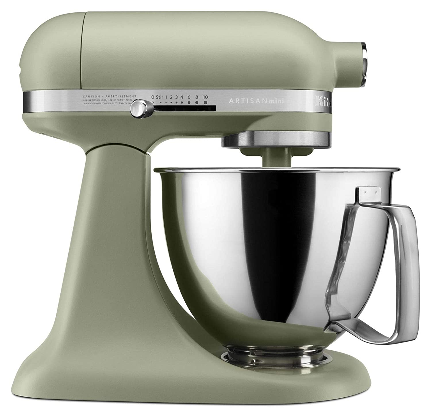 KitchenAid Artisan Mini 3.5 Quart Tilt-Head Stand Mixer, Matte Avocado Cream