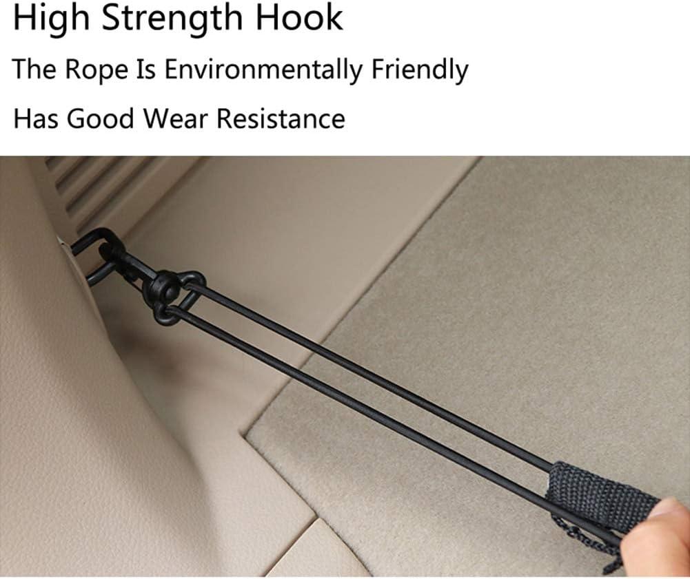 for Hyundai Kona Encino Accessories WPFC Car Trunk Rear Storage Cargo Network Trunk Luggage Net Elastic Mesh