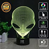 3D Lamp USB Power 7 Colors Amazing Optical Illusion