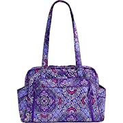 Vera Bradley Women's Stroll Around Baby Bag Lilac Tapestry One Size