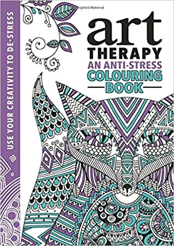 Amazon The Art Therapy Colouring Book 9781782434436 Richard Merritt Hannah Davies Cindy Wilde Books