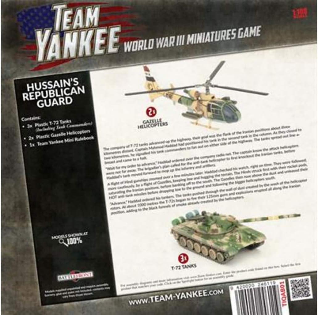 Iraq Team Yankee Oil War Hussains Republican Guard TIQAB1