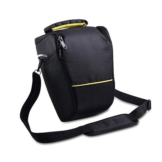YELLOL Bolsa para cámara réflex para Nikon D3400 D3500 D90 D700 ...