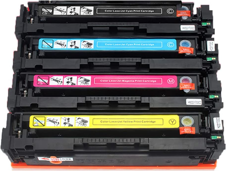 Applicable HP203a Toner Cartridge CF540A M254dw//nw Ink Cartridge M280nw M281fdn//fdw Toner Print Clear 1400 Pages Safety No Leakage powder-3-black