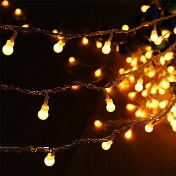 Amazon.com : AMARS 70 Feet Bedroom Globe String Lights Indoor ...