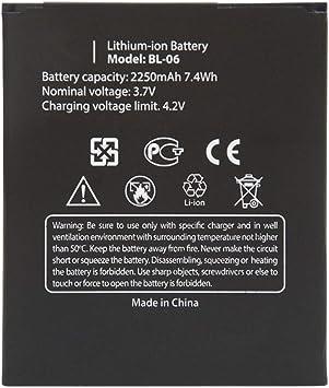 Uniamy BL-06 - Batería de repuesto para smartphone THL T6, T6 Pro ...