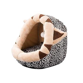 EMILF Pet Supplies Saco de Dormir Cerrado para Mascotas Pequeño cojín para Dormir para Mascotas Perrera