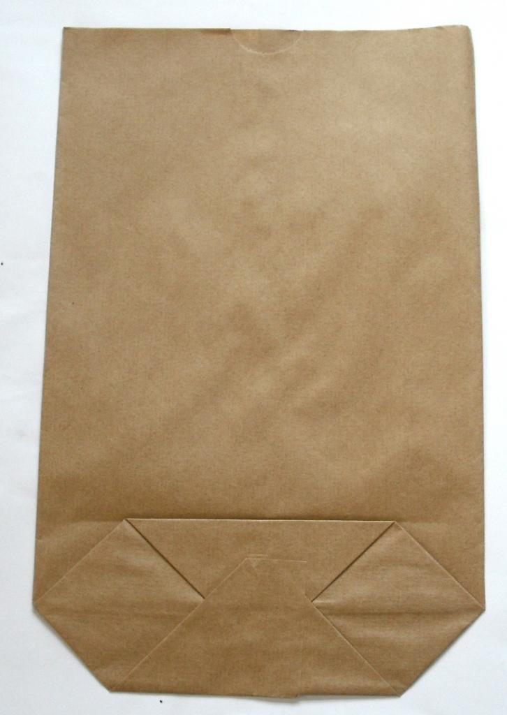 Bodentüte braun ohne Futter 16,5x26cm (800St.)