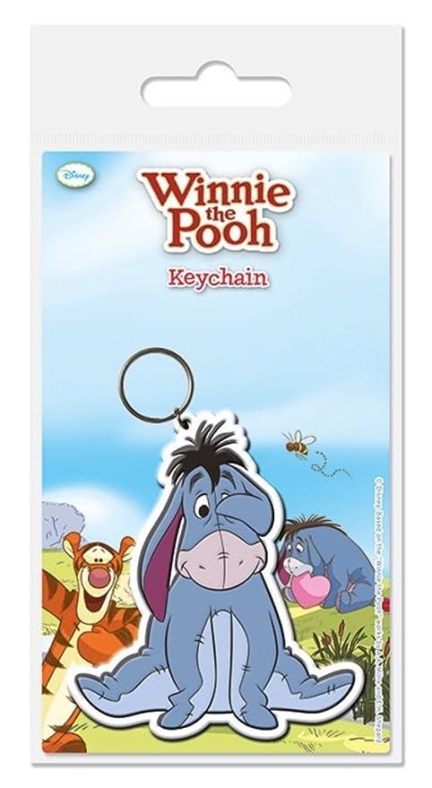 Winnie the Pooh - Eeyore - oficial de goma llavero: Amazon ...