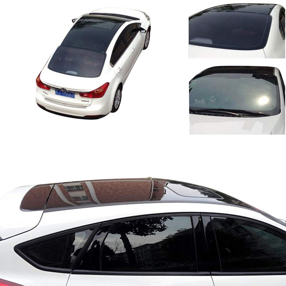 393.7 x53.1 10m x1.35m DiversityWrap GLOSS BLACK FINISH CAR ROOF VINYL WRAP WRAPPING GLOSSY AIR BUBBLE FREE