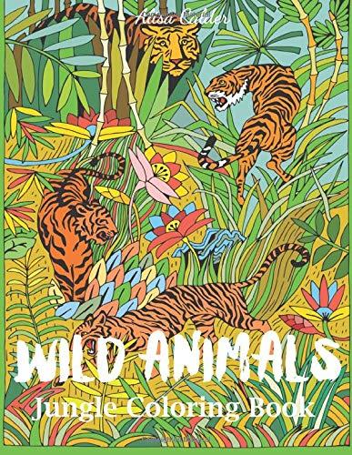 Amazon.com: Wild Animals Jungle Coloring Book: An Animal Coloring ...