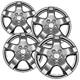 rims for 08 pontiac g5 - Hubcaps for 15 inch Standard Steel Wheels (Pack of 4) Wheel Covers - Snap On, Chrome