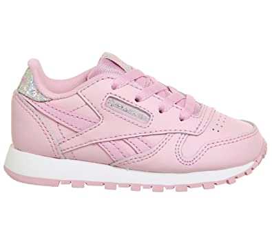 1301c3fa13f Reebok Unisex Babies  Classic Leather Pastel Trainers  Amazon.co.uk ...