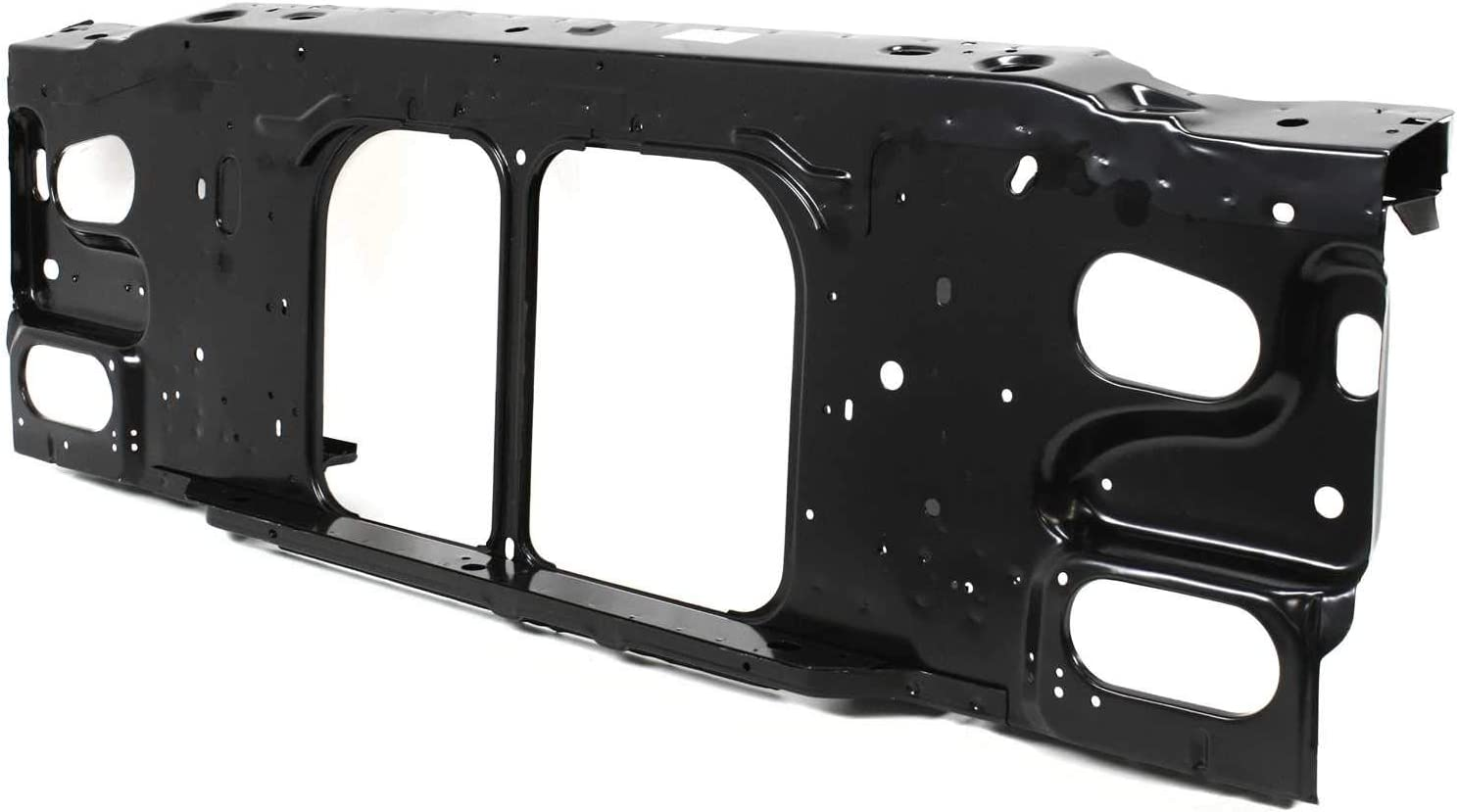 Radiator Support Assembly Compatible with 1995-1997 Ford Ranger Black Steel