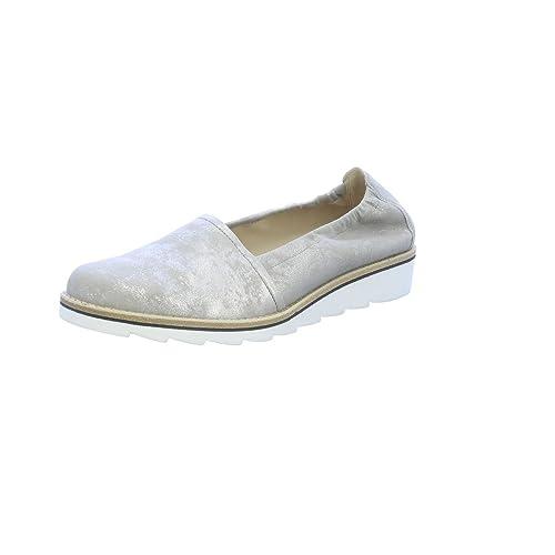 Gabor - Zapatilla tipo pantufla para mujer, en tallas grandes, color azul, color gris, talla 42.5: Amazon.es: Zapatos y complementos