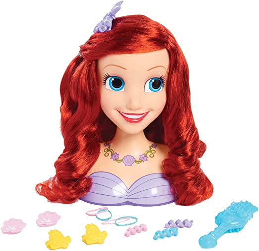 Jp Disney Styling Jpl87110 Disney Princess Ariel Styling Head