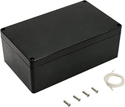Black Waterproof Plastic Electric Project Case Junction Box 60*36*25mm **