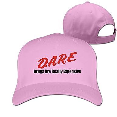 Retro Dare Drugs are Really Expensive Flat Baseball Cap Summer ... 056c6377560