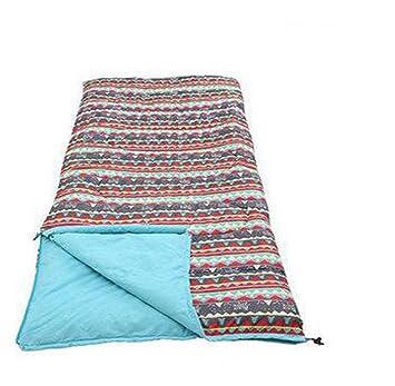 mengyz Adulto Sacos de dormir camping Outdoor Portable sobre Saco de dormir Saco de dormir infantil, adult - blue: Amazon.es: Deportes y aire libre