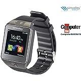 """simvalley Mobile BT Uhr: 1,5""""-Handy-Uhr & Smartwatch PW-430.mp mit Bluetooth 3.0 und Fotokamera (Uhr mit Telefon)"""