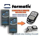 Tormatic MHS43-2 NOVOTRON 302, MHS43-4 NOVOTRON 304 kompatibel handsender, 4-kanal ersatz sender, 433.92Mhz rolling code. Top Qualität ersatzgerät!!!