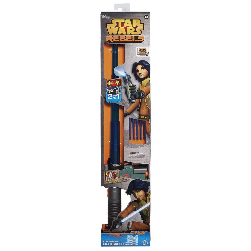 Star Wars Ezra Bridger 2-In-1 Lightsaber Blaster