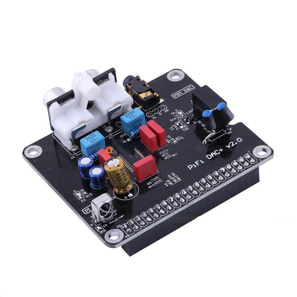 TOOGOO(R) 1XCCL DAC+HIFI DAC Audio Sound Card Module I2S for Raspberry pi 3 2 B B+