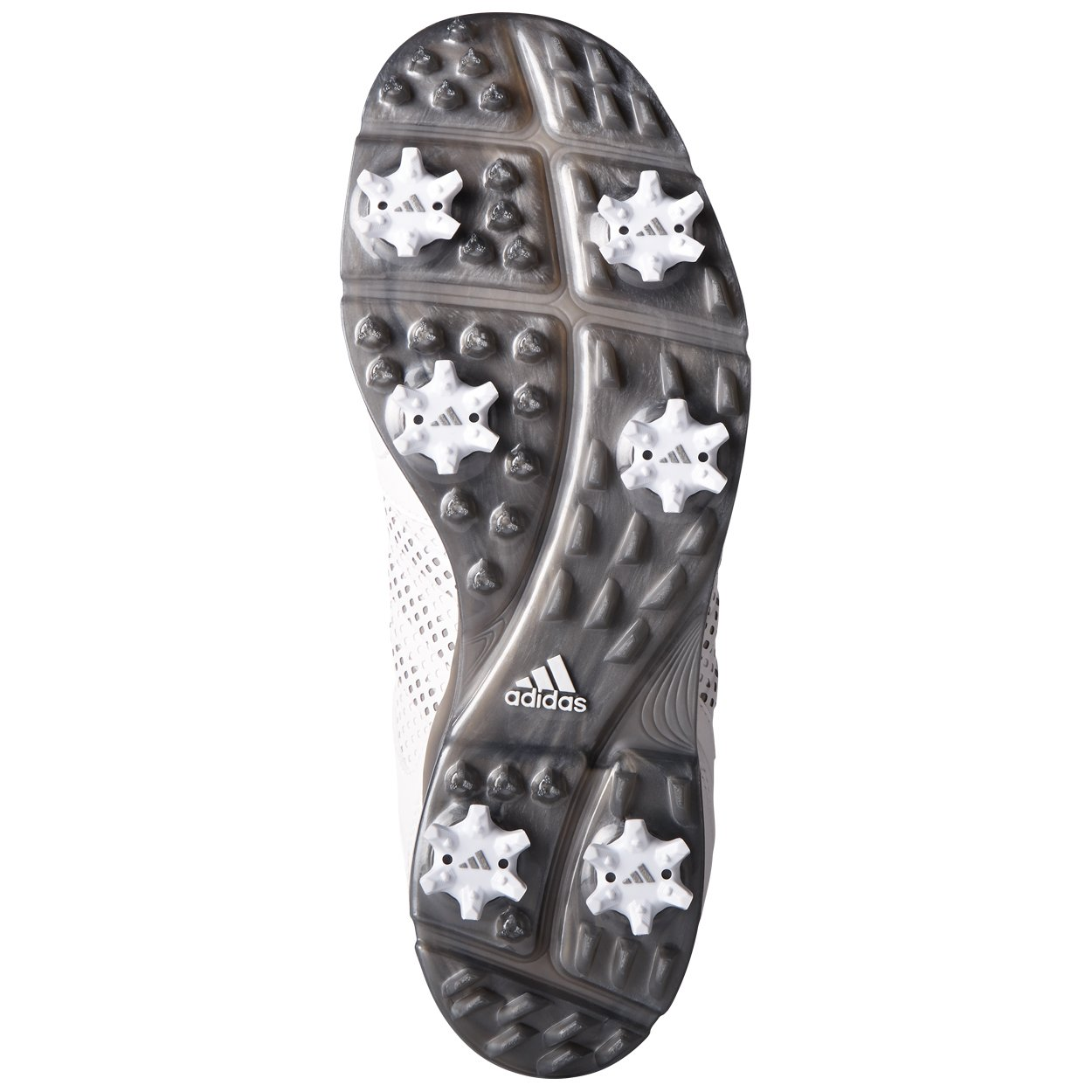 adidas Women's Adipure Tour Golf Shoe, White, 9.5 M US by adidas (Image #2)