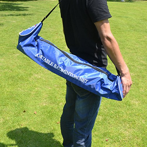 BenefitUSA Portable Training Beach Volleyball Tennis net Badminton with carrying bag by BenefitUSA (Image #3)