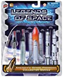 Space Toy Set - America's Space Program Collector's Series - 5-Piece Replica Spaceship Rocket Toy