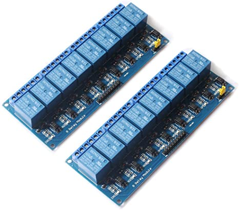 5V 1//2//4//8 Channel Relay Board Module opto-couplers LED for Arduino PIC ARM avrgwu