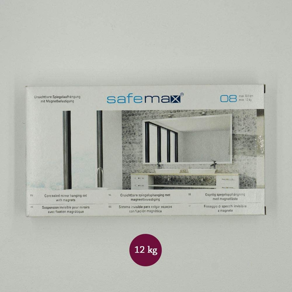 Kit di Fissaggio Specchio//dibond da 4 kg DECOHO