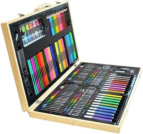 Deluxe Art Set Tres-en-uno de escritorio Pintura 180 juego de piezas de calidad caja