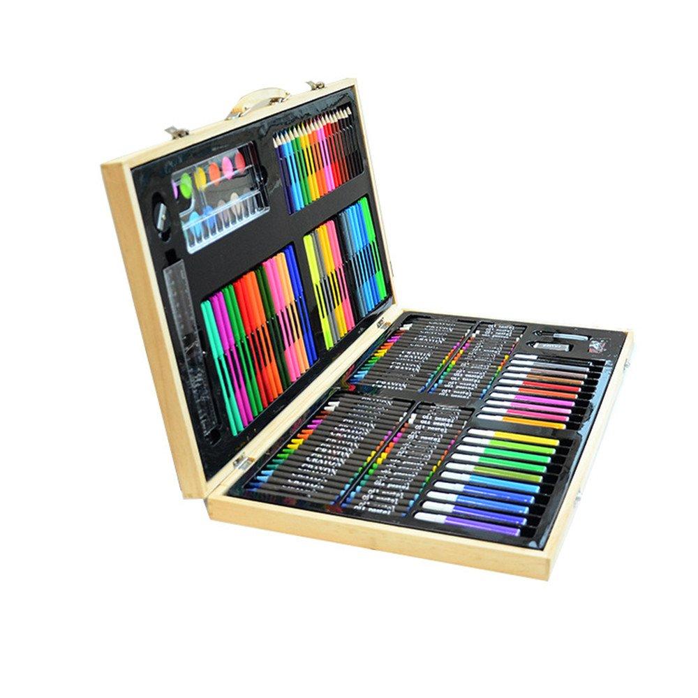 AUMING Farben Wasserfeste Stifte 180 Stücke Luxuskunst, Malen von Malkarten, Pinsel, Ölpinsel usw. Anfänger können Sich Ihr Kunstwerk unendlich vorstellen B07QB54K7T | Qualität