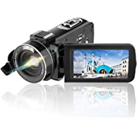 AiTechny Full HD 1080p 24.0MP Video Camera Camcorder & 3