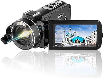 AiTechny Full HD 1080p 24.0MP Video Camera Camcorder & 3